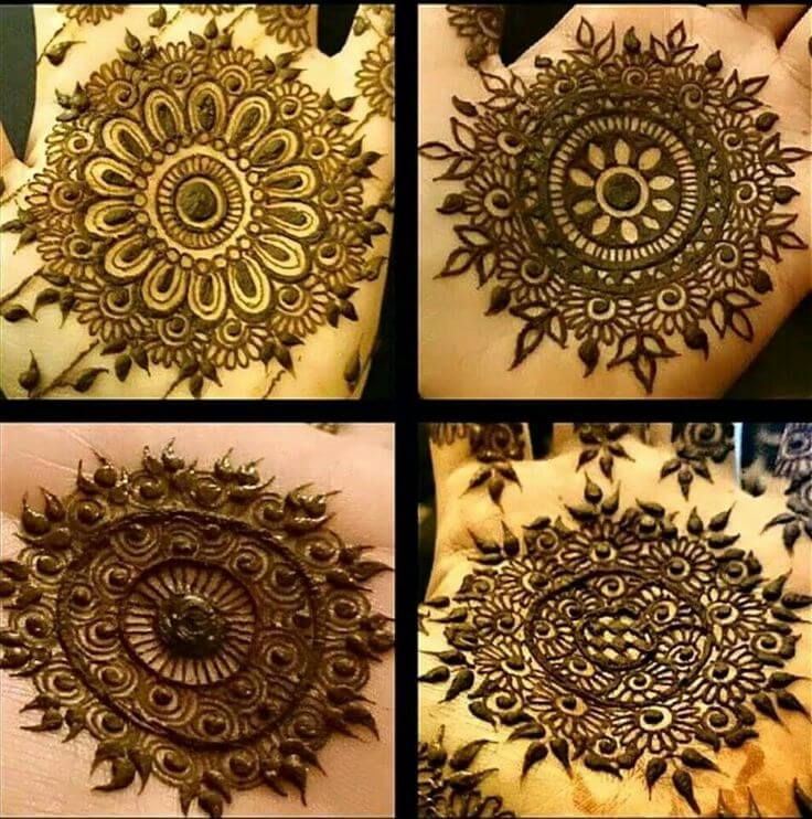 Circular designer pattern