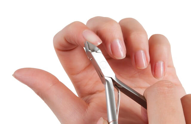 Clean And Trim The Cuticles