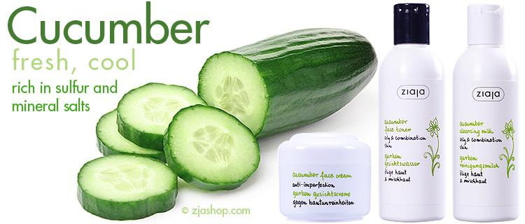 Cucumber As A Makeup Remover And Skin Toner