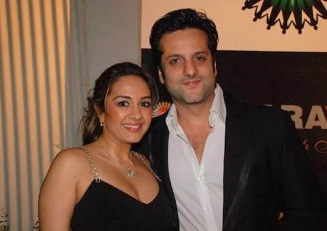 Fardeen Khan and Natasha Madhvani