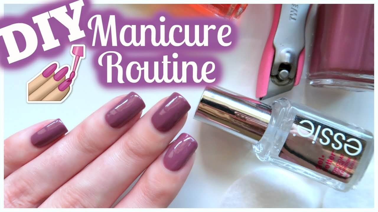 Natural Beauty Tips For Perfect Nail Manicure In Home