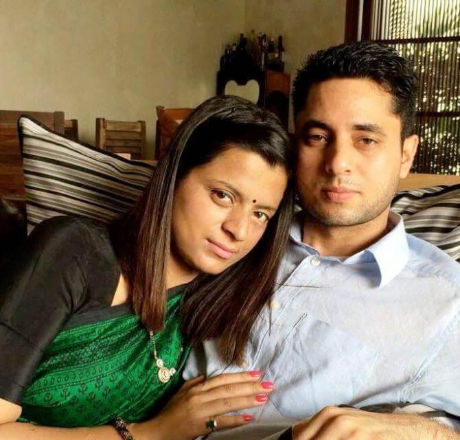 Rangoli Ranaut and Ajay Chandel