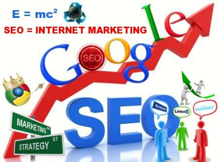 What is the difference of SEO and Internet marketing