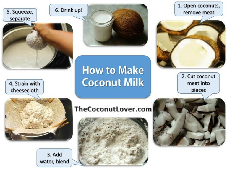 How To Make Coconut Milk At Home?