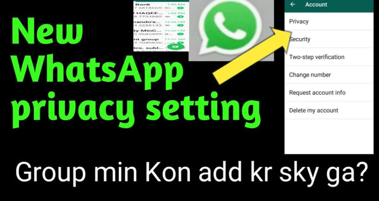 How to change group privacy settings on WhatsApp