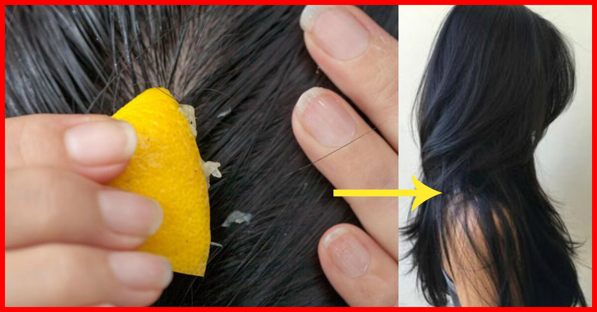 Lemon for hair growth