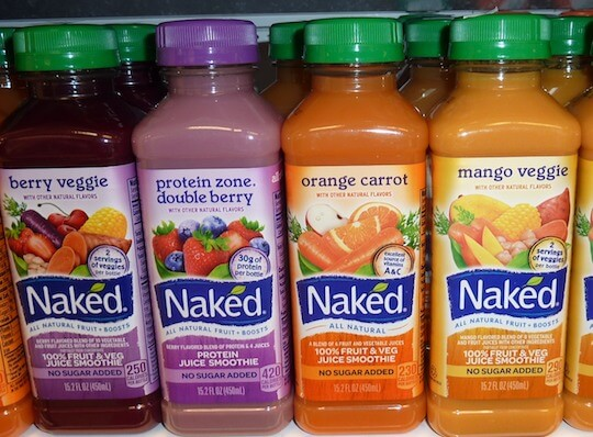 Loading up on sugary cold drinks and juices