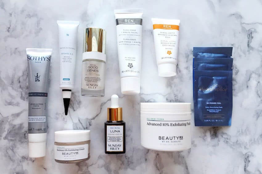Over-Cleansing and Over-Exfoliating