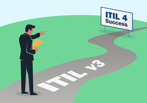 change from ITIL v3 certification to ITIL v4