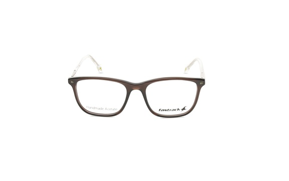Brown Wayfarer Rimmed Eyeglasses