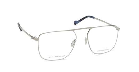Silver Square Rimmed Eyeglasses